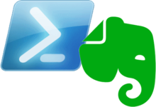 PowerShell & Evernote